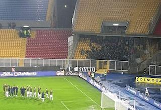 Tifosi del Lecce ospitano quelli del Cagliari, il bell'esempio che scalda il cuore ultrà