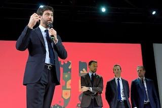 """Agnelli esalta Sarri: """"La nostra ferocia pari alla sua. Vincere il tricolore, un obbligo"""""""