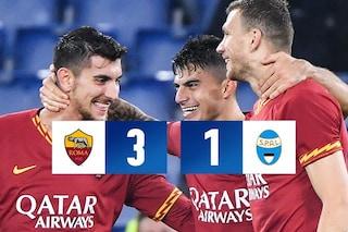 Serie A, Roma-Spal: giallorossi di rimonta, quarto posto salvo a suon di gol