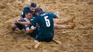 Mondiale Beach Soccer, l'Italia vola in finale: Russia sconfitta 8-7. Decide Zurlo