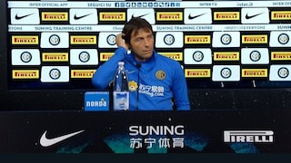 """Conte: """"Mi chiamò Totti, non era il momento. Nainggolan? Si chieda perché è a Cagliari"""""""