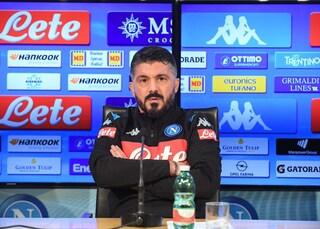 """De Laurentiis lancia Gattuso: """"Lui è Ringhio Starr'. Il tecnico: """"Vogliamo il 4° posto"""""""