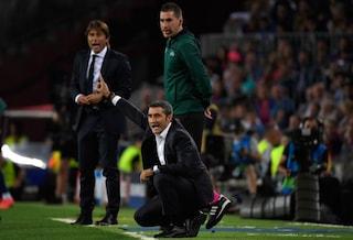 """Verso Inter-Barcellona, Valverde: """"A Milano per vincere, anche se qualificati"""""""