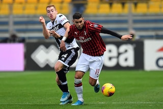 A Parma Theo Hernandez 'salva' il Milan e Pioli: gol nel finale e ritorno alla vittoria