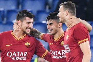 La Roma batte la Spal 3-1 e inguaia Semplici. Giallorossi quarti