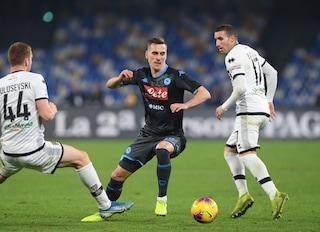 Le pagelle di Napoli-Parma 1-2: Kulusevski e Gervinho al top, il flop è Koulibaly