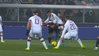 Moviola Bologna-Milan 2-3, i calci di rigore su Piatek e Orsolini