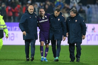 Fiorentina, infortunio Ribery: l'attaccante francese costretto all'operazione