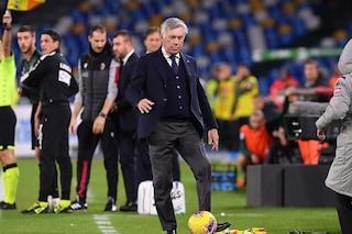 I tifosi del Napoli hanno deciso: #AncelottiOut, l'hashtag che spopola online