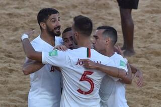 Mondiali Beach Soccer, Italia d'argento: in finale si impone un grande Portogallo