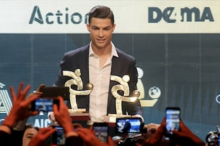 """Gran Galà Aic, Ronaldo: """"Un orgoglio essere il miglior calciatore della Serie A"""""""