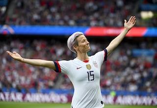 """Megan Rapinoe contro Messi, CR7 e Ibra: """"Perché non parlano di razzismo e sessismo nel calcio?"""""""