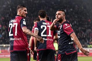 Coppa Italia, il Cagliari non perde un colpo: Samp ko e qualificazione agli ottavi