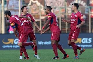 Serie B, risultati 15a giornata: il Cittadella batte la Salernitana e vola al secondo posto