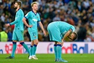 Liga, Real Sociedad-Barcellona: solo pari per gli azulgrana ma è bufera VAR