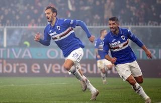 Il derby è della Sampdoria: Genoa battuto 1-0. Decide Gabbiadini