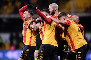 Dominio Benevento in Serie B: 4-0 all'Ascoli, tripletta di Sau