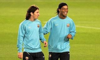 """Messico, Ronaldinho non ci sta: """"Leo Messi? Non è il migliore della storia"""""""