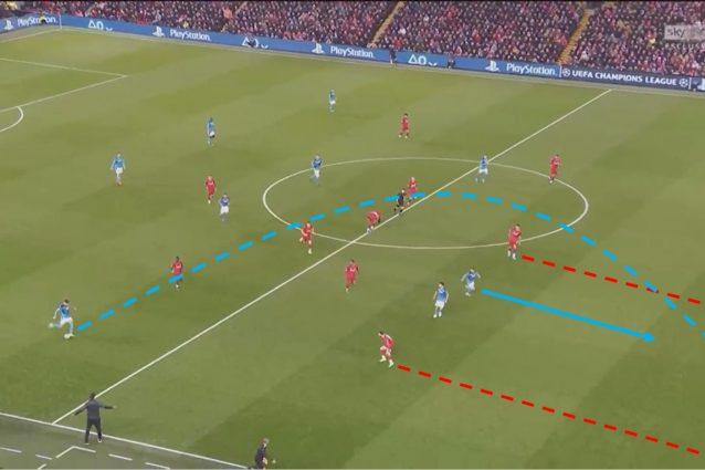 A Liverpool, il Napoli ha mostrato una notevole capacità di sfruttare i corridoi lasciati aperti dalla difesa inglese