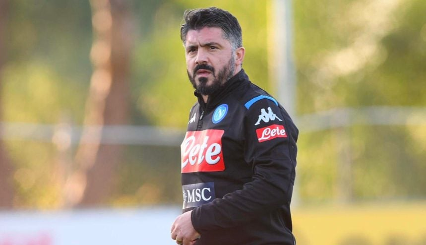 Gattuso a Castel Volturno – Twitter Napoli