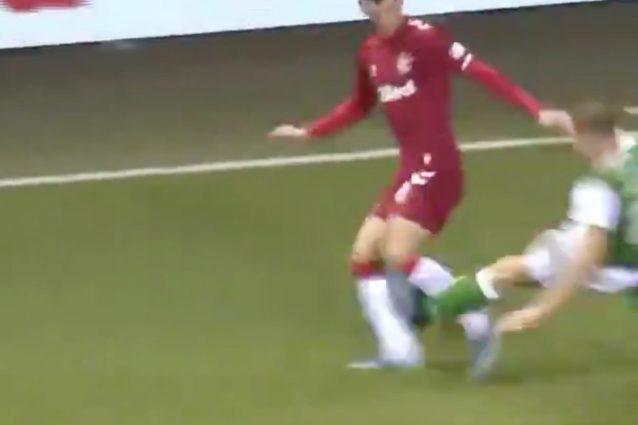 Il fallo che ha scatenato la rabbia di Gerrard