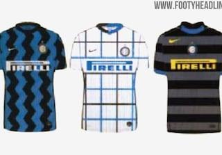 Inter, le nuove maglie per la stagione 2020/2021