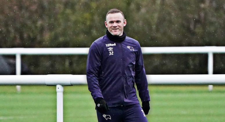 Rooney in allenamento – Twitter giocatore