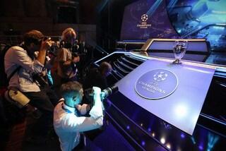 Fasce sorteggio Champions League: tutte le squadre qualificate