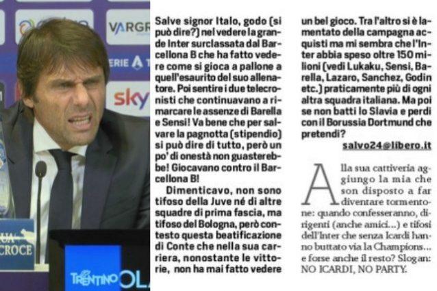 Perche L Inter E In Polemica Con Il Corriere Dello Sport E Chi E Salvo24