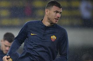 """Fonseca: """"Dzeko s'è allenato, giocherà Inter-Roma"""""""