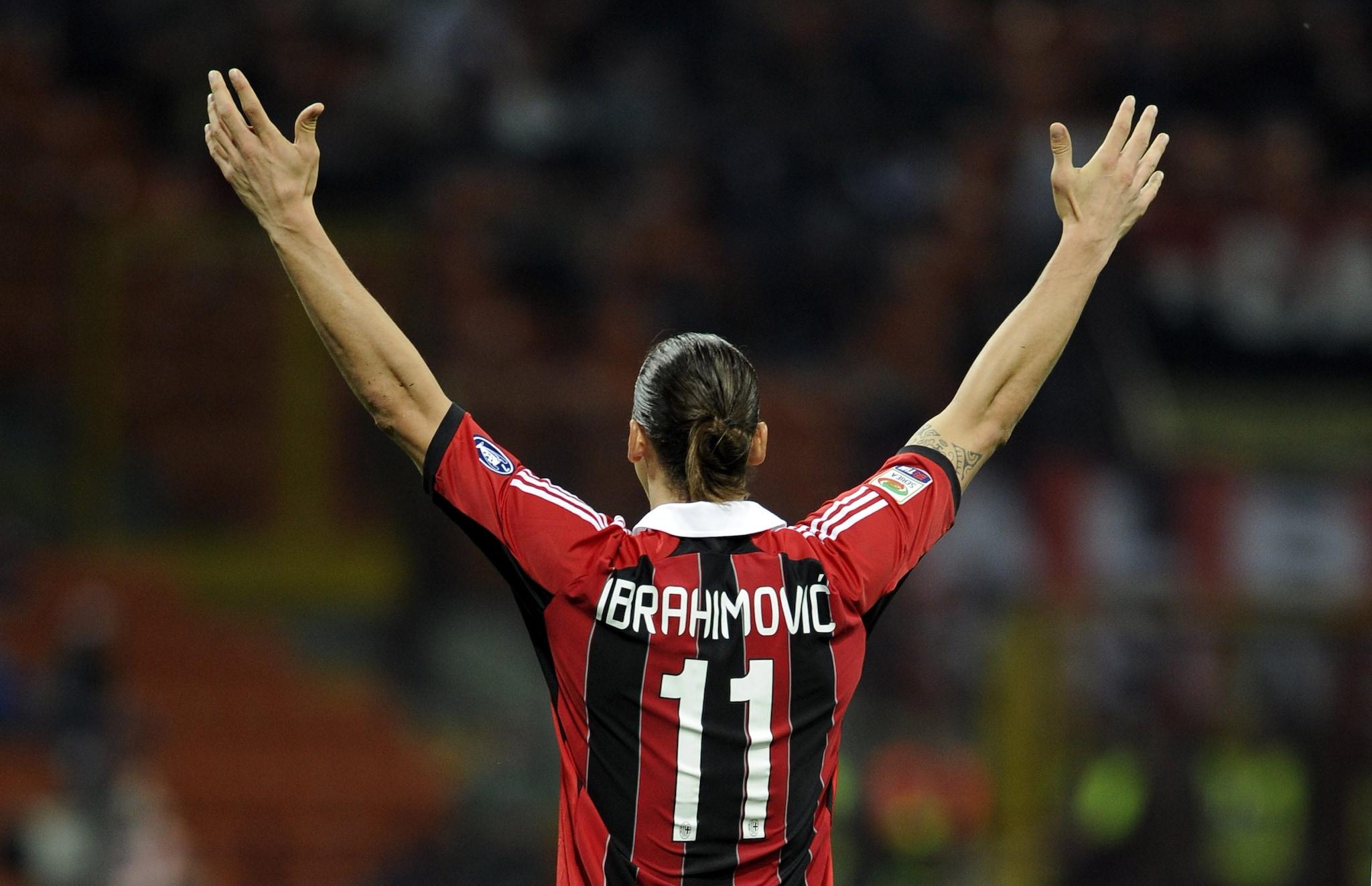 Ibra nel 2011 conquistò lo scudetto con il Milan.
