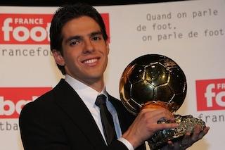 """Pallone d'Oro, l'ultimo """"italiano"""" a vincerlo fu il milanista Kakà. A Cannavaro quello del 2006"""