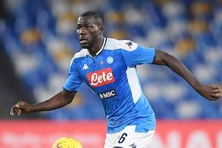 Napoli, emergenza in difesa: Koulibaly, Maksimovic e Luperto possono saltare l'Inter