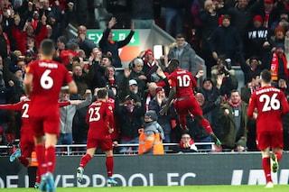 Premier, il Liverpool vince il derby con l'Everton. Mourinho ko: United-Tottenham 2-1