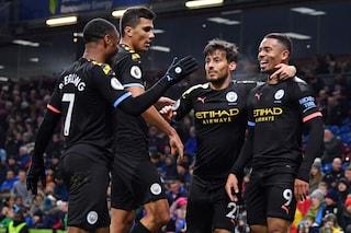Premier League, poker del Manchester City al Burnley: Guardiola aggancia il secondo posto