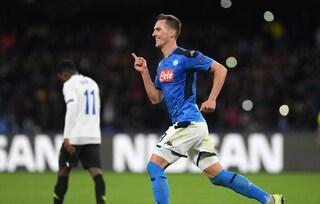 Milik, prima tripletta con il Napoli e media gol da grande bomber