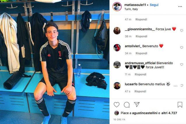 Juventus, ufficiale: arriva Soulé dal Velez