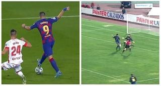 Suarez, Kluivert e il colpo di tacco nella storia di Barça-Maiorca