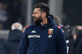 Genoa, Thiago Motta, dopo il ko nel derby con la Sampdoria, è a rischio esonero