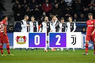 La Juventus non perdona: a Leverkusen ennesima vittoria, firmata Higuain e Cristiano