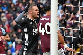 16 reti in 16 gare, ottava di fila per Vardy: il Leicester è secondo in Premier e sogna