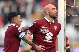 Remuntada del Verona, da 0-3 a 3-3 con il Torino: Stepinski pareggia all'85'