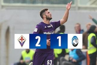 Fiorentina-Atalanta 2-1: Cutrone e Lirola decisivi, nei quarti di Coppa Italia c'è l'Inter