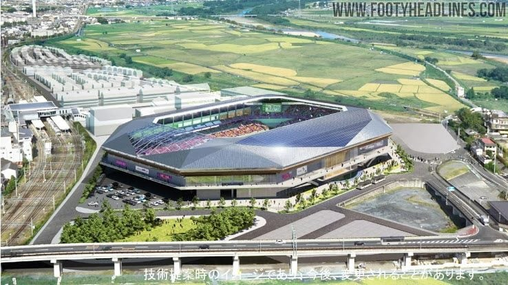 Il 'Sanga Stadium' di Kyoto