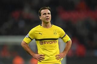 Calciomercato, Goetze rompe con il Dortmund: l'attaccante può partire anche a gennaio