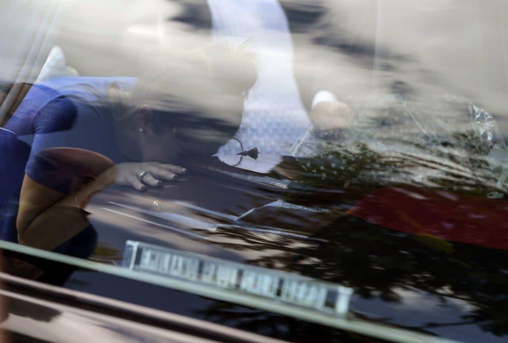 La sorella di Emiliano Sala, Romina, nel giorno dei funerali in Argentina