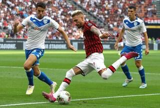 Calcio in tv oggi e stasera: Serie A, c'è Brescia-Milan. Chievo-Empoli in chiaro sulla Rai