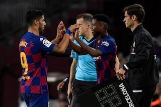 Barcellona, dopo l'infortunio di Luis Suarez si valuta il mercato: i possibili sostituti