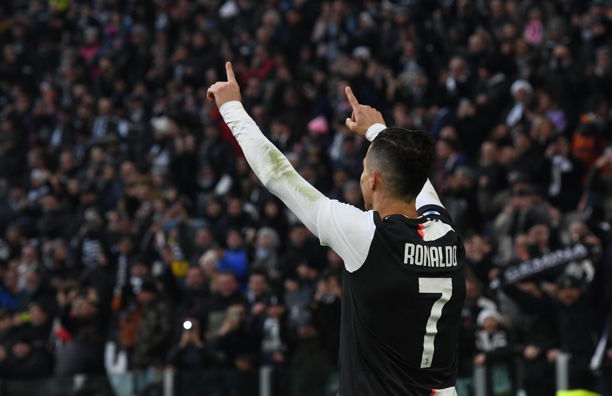 Prima tripletta in Serie A per Cristiano Ronaldo.