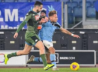 """La Lazio vince all'italiana contro il """"miglior"""" Napoli di Gattuso"""